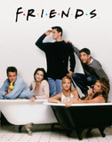 Buy Friends (Group, Bathtubs) TV Poster Print at AllPosters.com