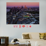 Boston Red Sox Fenway Park Skyline Stadium Mural