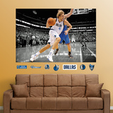 Dirk Nowitzki Mural Wall Decal