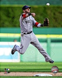 Dustin Pedroia 2012 Action