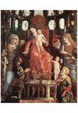 Andrea Mantegna (Madonna della Vittoria, with St. John the Baptist, the Duke Francesco Gonzaga bles