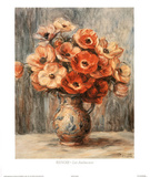 Renoir (Les Anemones) Art Print Poster