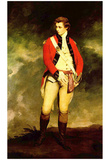 Sir Joshua Reynolds (Portrait of Colonel John Hayes St Leger, detail) Art Poster Print