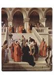 Francesco Hayez (The Death of Doge Marin Faliero (The last hour of the Doge Marin Faliero)) Art Pos