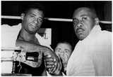 Floyd Patterson and Joe Louis 1962 Archival Photo Sports Poster