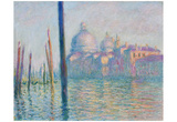 Buy Claude Monet (Le Grand Canal, Venice) Art Poster Print at AllPosters.com