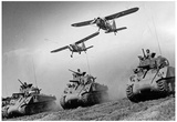 Army Tanks M4 Archival Photo Poster Print