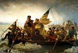 Emanuel Leutze Washington Crossing the Delaware River Art Print Poster