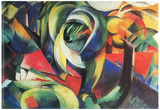 Franz Marc The Mandrill Art Print Poster