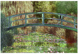 Claude Monet Le Pont Japonais Japanese Bridge at Giverny Art Print Poster
