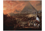 Francois-Louis-Joseph Watteau (The Battle of the Pyramids) Art Poster Print