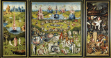 Hieronymus Bosch (The Garden of Earthly Delights Panel) Art Poster Print
