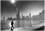 Chicago Skyline Archival Photo Poster Print