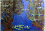 Claude Monet Water-Lilies 6 Art Print Poster