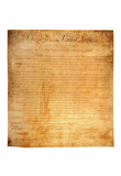 Bill of Rights (First 10 Amendments) Art Poster Print