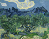 Vincent Van Gogh (The Olive Trees) Art Poster Print