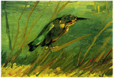 Vincent Van Gogh The Kingfisher Art Print Poster