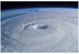 Hurricane Isabel (From Space) Art Poster Print