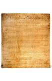 Bill of Rights (First 10 Amendments) Art Poster Print