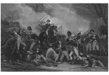 John Trumbull (Battle of Princeton) Art Poster Print