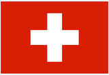 Switzerland National Flag Poster Print