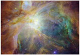 Spitzer and Hubble Create Colorful Masterpiece Space Photo Art Poster Print