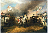 John Trumbull Surrender of Lord Cornwallis Art Print Poster