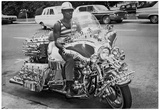 Modified Motorcycle 1972 Archival Photo Poster