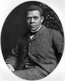 Booker T. Washington (Portrait) Art Poster Print