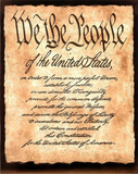 Constitution America motivational Art Print Poster