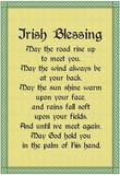 Irish Blessing Art Print Poster