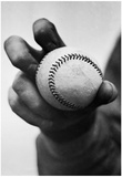 Baseball Knuckleball Grip Archival Photo Sports Poster Print