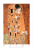 Gustav Klimt The Kiss Le Baiser Art Print Poster