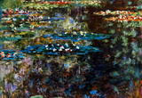 Claude Monet Water Garden at Giverny Art Print Poster