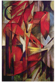 Franz Marc (Red Foxes) Art Poster Print