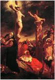 Eugene Delacroix Christ at the Cross Art Print Poster