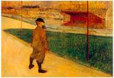 Henri de Toulouse-Lautrec Tristan Bernard Art Print Poster