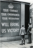UK WWII Propaganda Your Courage Archival Photo Poster Print