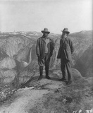 Theodore Roosevelt (With John Muir) Art Poster Print