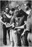 Zulus Motorcycle Club Funeral 1982 Archival Photo Poster