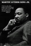 Martin Luther King Jr. (Character Quote) Art Poster Print