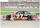 Rusty Wallace Archival Photo Sports Poster Print