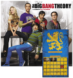 The Big Bang Theory - 2013 Wall Calendar