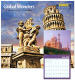 Global Wonders ® - 2013 Wall Calendar