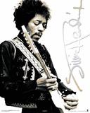 Jimi Hendrix Black & White Mini Poster