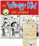 Wimpy Kid - 2013 Illustrated Wall Calendar