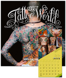 Tattoo World - 2013 Wall Calendar