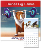Guinea Pig Games - 2013 Wall Calendar