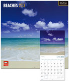 Beaches - 2013 Wall Calendar