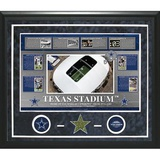 Texas Stadium Timeline Turf Collage